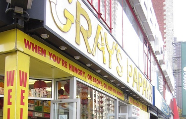 Gray's Papaya 2090 Broadway, New York, NY 10023 (212) 799-0243 ‎